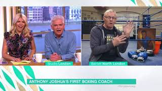 Anthony Joshua's First Boxing Coach   This Morning