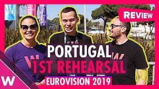 Portugal First Rehearsal: Conan Osiris