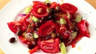 Шопский салат (Шопска салата, Šopský salát)