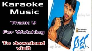 Telugu Karaoke_A Ante Amalapuram
