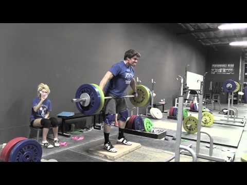Commentary 4: Halting Snatch Deadlift on Riser with Commentary by Greg Everett