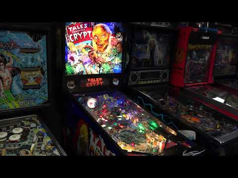 Tales From The Crypt (Data East, 1993) Flipper Pinball