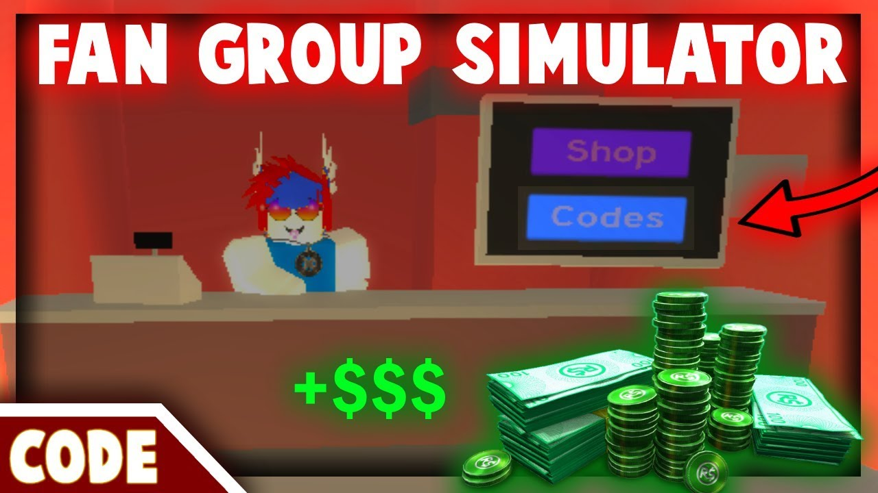 ROBLOX FAN GROUP SIMULATOR! [CODE] - YouTube