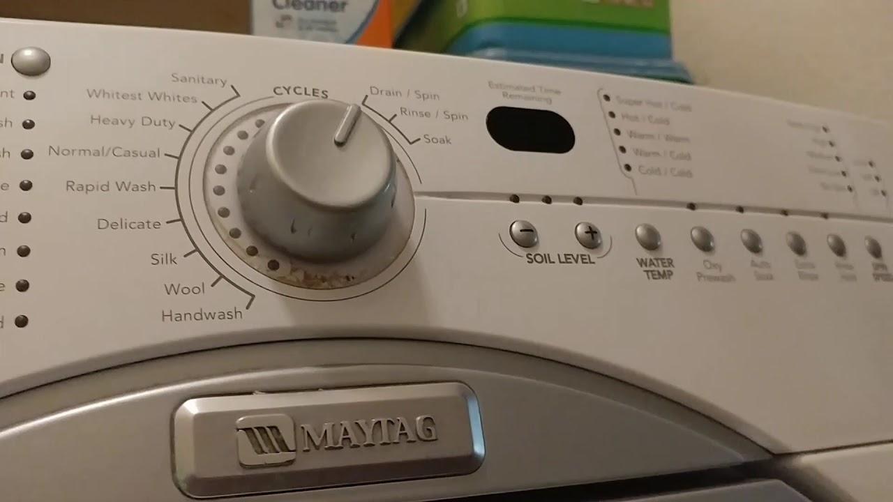 Maytag Epic Washing Machine Problems Won 39 T Drain Trap