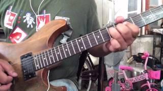 ไอ บ าวน น ธ เดช ทองอภ ชาต guitar solo cover by ja inz