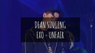 Video Dean singing EXO - UNFAIR at Yu Huiyeols Sketchbook download MP3, 3GP, MP4, WEBM, AVI, FLV Oktober 2017