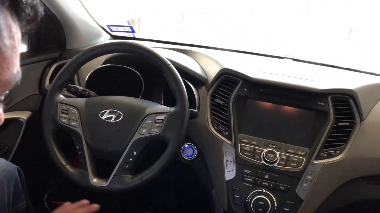 Programacion Smart Key Hyundai Santa Fe 2014 con X100 Pad 2