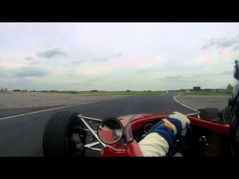 1968 Lola T140 F5000 / Formula A racer on board with Andrew McKenna
