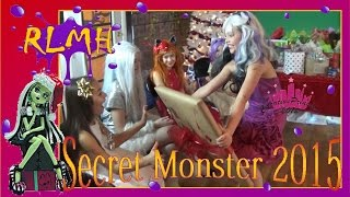 Real Live Monster High | Secret Monster 2015 - Creative Princess