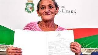 Jaguaribe e Hidrolândia recebem 607 títulos de propriedade rural