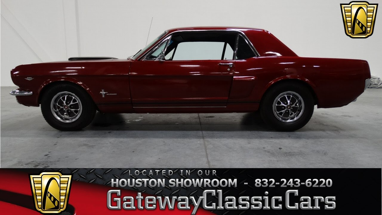 1966 ford mustang houston tx youtube. Black Bedroom Furniture Sets. Home Design Ideas
