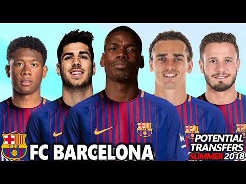 FC BARCELONA - POTENTIAL TRANSFERS & RUMOURS SUMMER 2018 | Ft. POGBA, GRIEZMANN, ALABA, INIESTA...