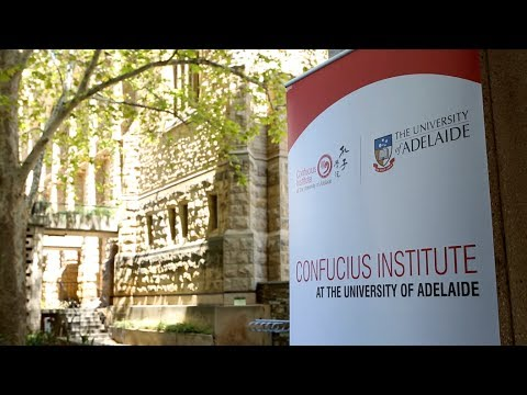 Introduction of Confucius Institute at the University of Adelaide