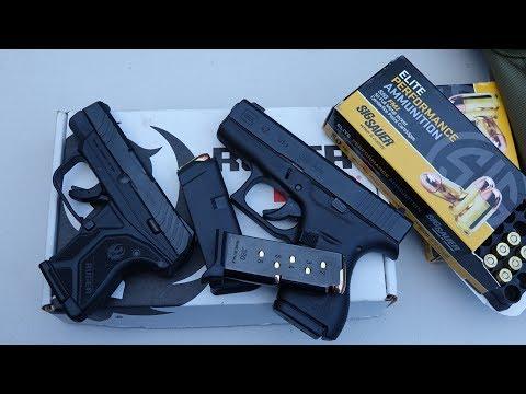 Ruger LCP II vs Glock 42 (HD)