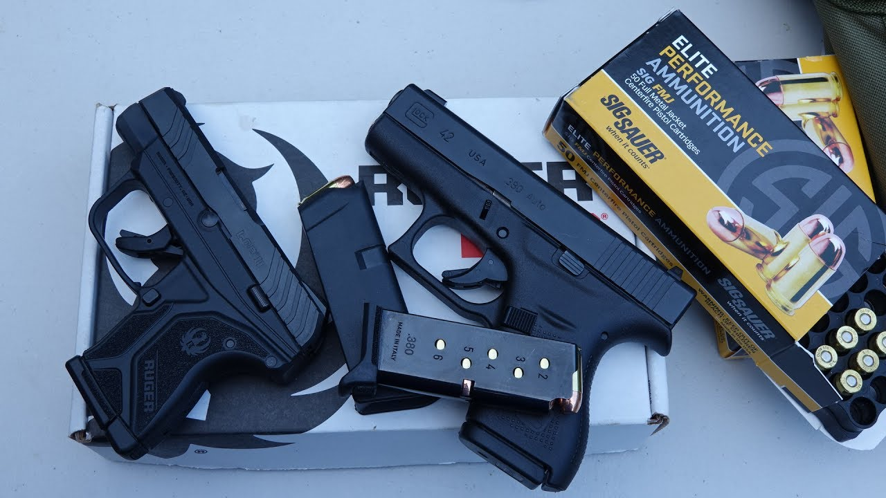 Ruger Lcp Ii Vs Glock 42 Hd