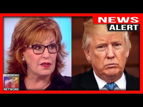 ALERT: Joy Behar GOES THERE And Makes SICK Joke AGAIN About President Trump's Death - 동영상