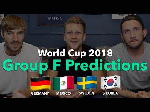 WORLD CUP PREVIEW - GROUP F - Germany / Mexico / Sweden / Ko