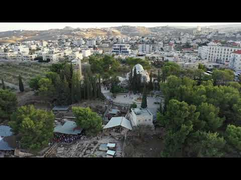 Bethlehem Israel Aerial