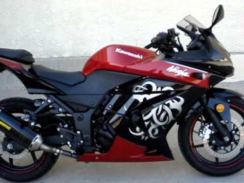 2010 Kawasaki Ninja 250R Special Edition Akrapovic Exhaust Drive By