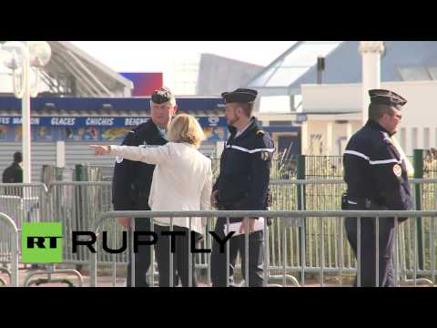 France:  Security tightened in Normandy ahead of D-Day