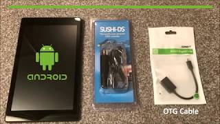 Registering and Activating a SUSHI-DS for use with Light Rider on Android