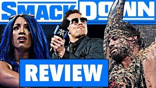WWE SmackDown Review - RINGSTIEFEL RAUS! - 06.12.19 (Wrestling Podcast Deutsch)