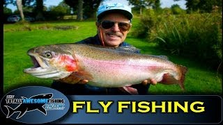 Big Trout on the Crane Fly - Totally Awesome Fishing Show