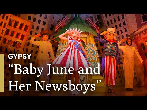 Gypsy - Let Me Entertain You | Baby June and Newsboys