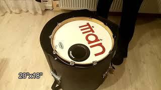 gator bass drum case