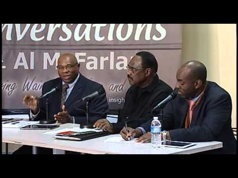 Conversations with Al Mcfarlane The Department of Justice Settlement of lawsuit