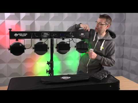 American DJ Dotz TPar Lighting System Talkthrough