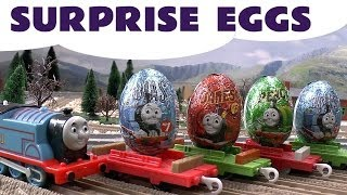 Surprise Egg Unboxing Thomas And Friends same as Kinder Egg Surprise Toys James Percy Kids