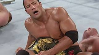 Dwayne 'The Rock' Johnson wins the Undisputed Championship