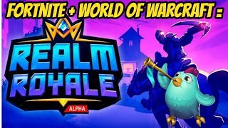 Fortnite - World Of Warcraft avait un bébé! Et c'est AHHHSOME! Royaume Royale LIVESTREAM