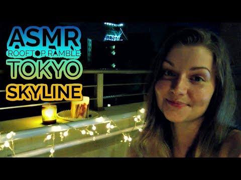ASMR Relaxing Rooftop Ramble ~ TOKYO SKYLINE