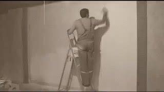 Быстрая роспись стен по трафарету от студии декора