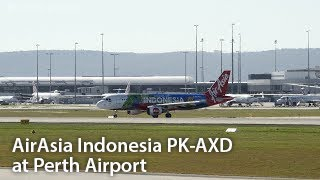 Colours Of Indonesia Special Livery - AirAsia Indonesia (PK-AXD) at Perth Airport.