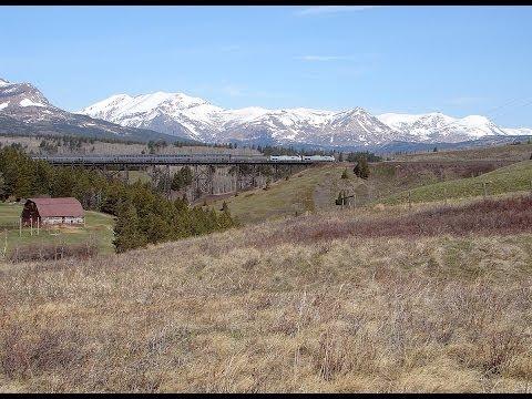 Amtrak's Empire Builder Day 2 Part 2 East Glacier Park to Grand Forks