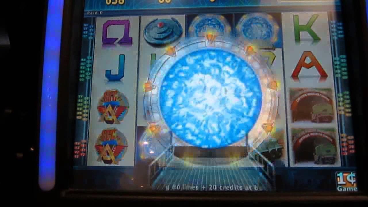 stargate sg1 slot machine