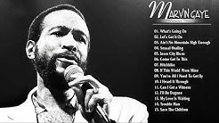 Marvin Gaye Greatest Hits Playlist - Marvin Gaye Best Songs Of All Time