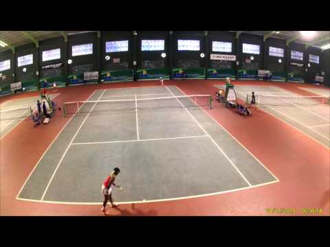 Rifanty Kahfiani highlights (indonesian tennis player)