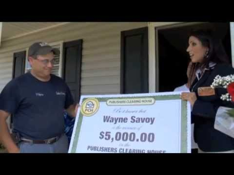 Publishers Clearing House Winner - Wayne Savoy Of LA June