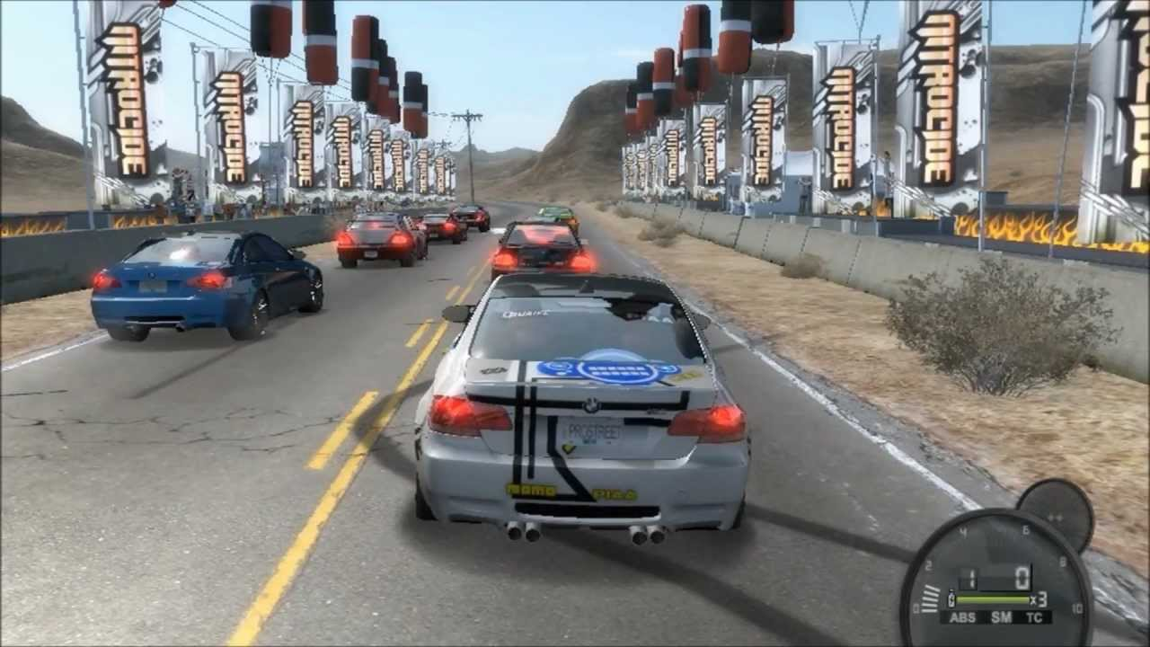 need for speed pro street pc demo gameplay 2 youtube. Black Bedroom Furniture Sets. Home Design Ideas