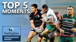 The Baby Rhino? Derby Day Drama? Last Minute Try? | Top 5 Moments | Gallagher Premiership Rugby