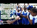 DOMINICA HIGH SCHOOL STUDENTS REACTS TO REAL STREET MAGIC IN ROSEAU