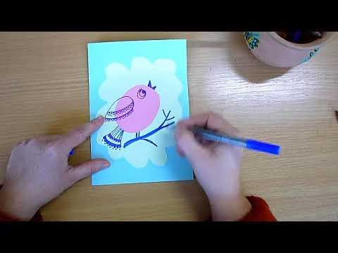 1 клас. Мистецтво. Створення листівки до зимових свят