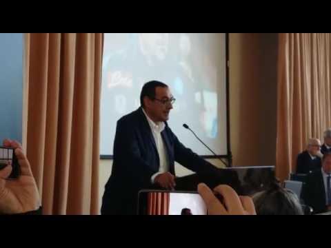 Panchina d'oro 2017: Discorso da brividi di Maurizio Sarri