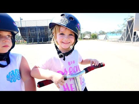 WORLD'S YOUNGEST GIRL PRO SCOOTER RIDER!