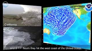NOAA Ocean Today video: Tsunami Strike -- Japan Part 2 of 3: Propagation