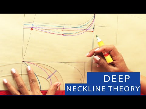Class 12- Deep Neckline Theory [What changes to make if front & back neck is deep]